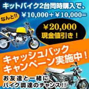 2台同時購入で2万円お値引きキャンペーン
